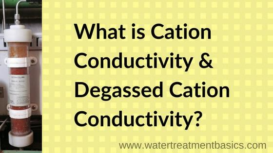 Cation Conductivity & Degassed Cation Conductivity